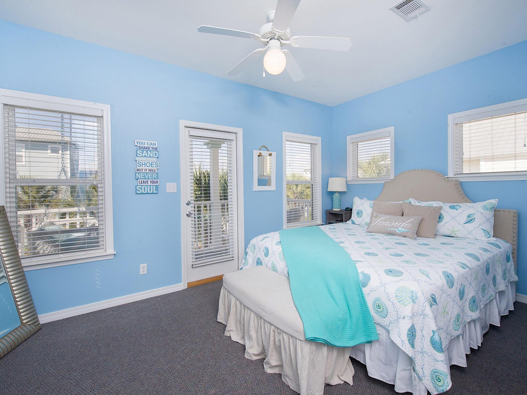 Gulfside Cottage Master Bedroom