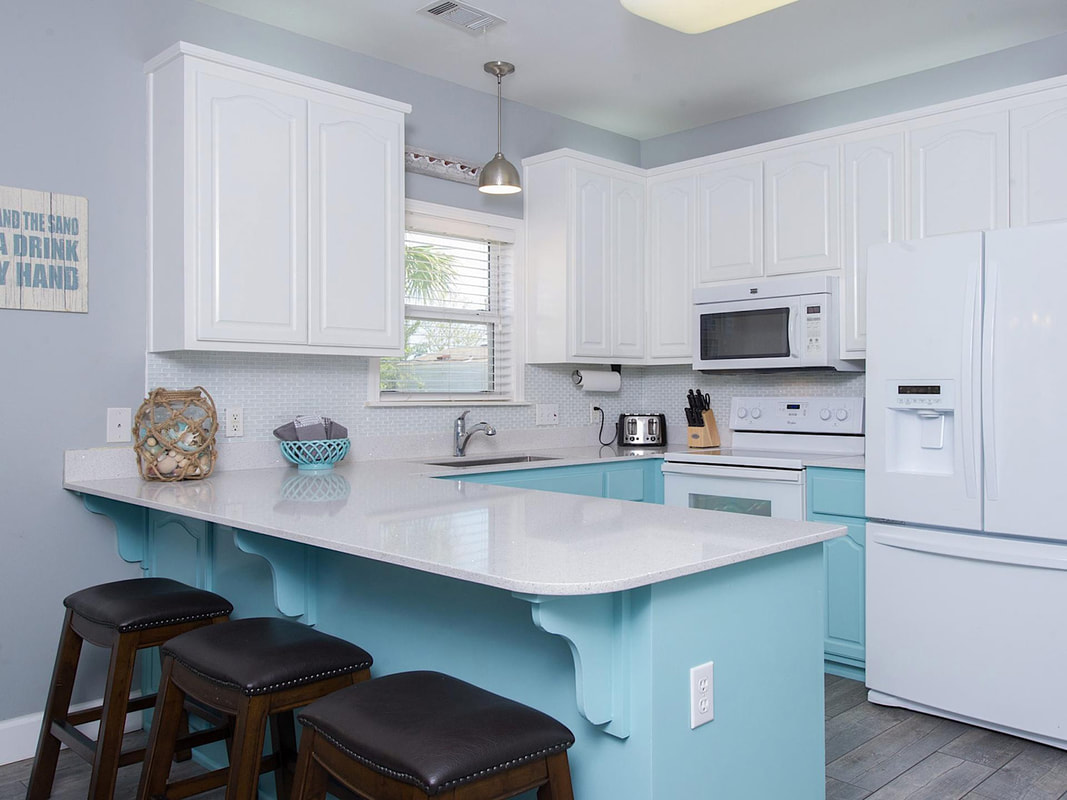 Gulfside Cottage Kitchen